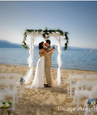 beach weddings lake tahoe